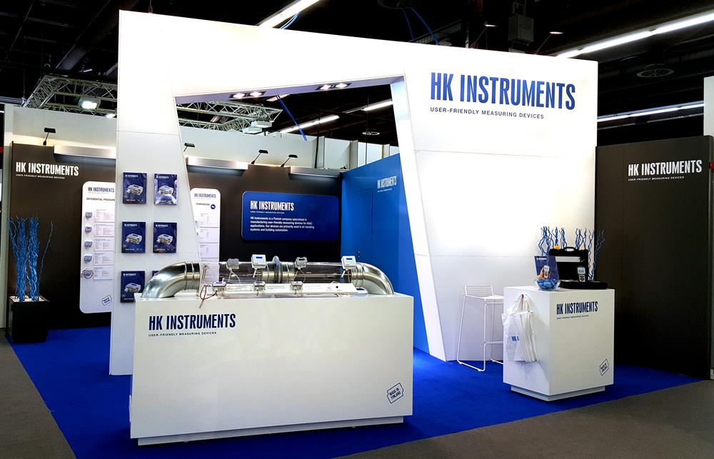 HK Instruments messuosasto FinnBuild